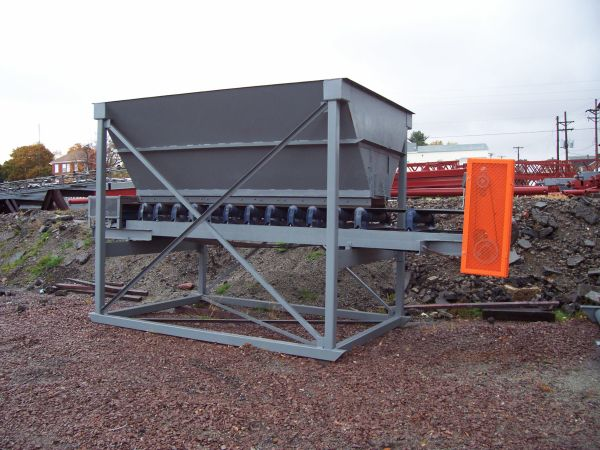 8 x 12 Feed Hopper