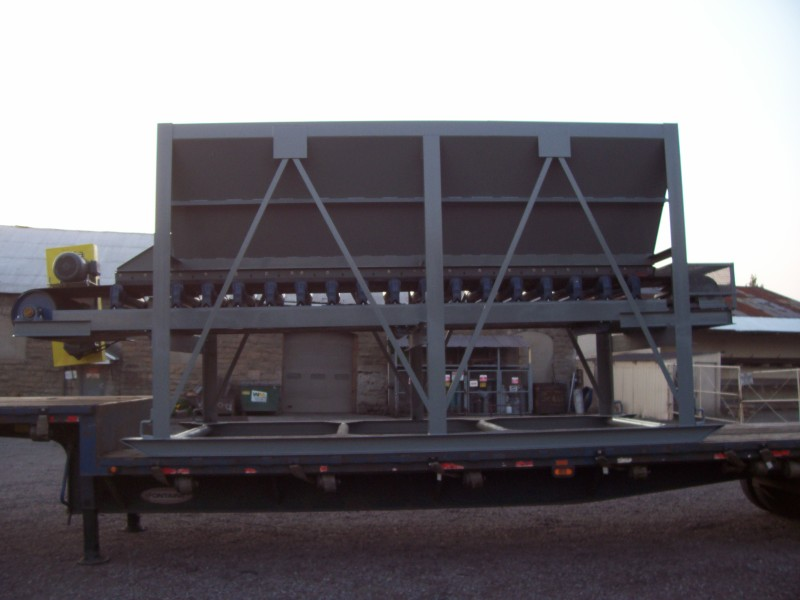 8 x 16 Feed hopper w 36 belt 2