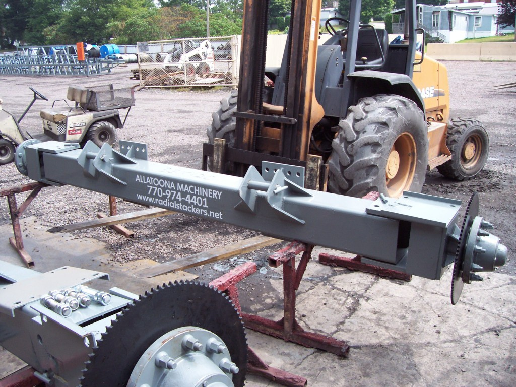 ALLATOONA LOGO ON AXLE FRAME